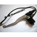 Maneta y soporte izquierdo USADOS Kawasaki KLX650 (1993)