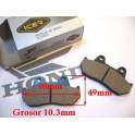 Juego de pastillas freno NUEVAS Honda CX500-600. XLV600. VF1000.