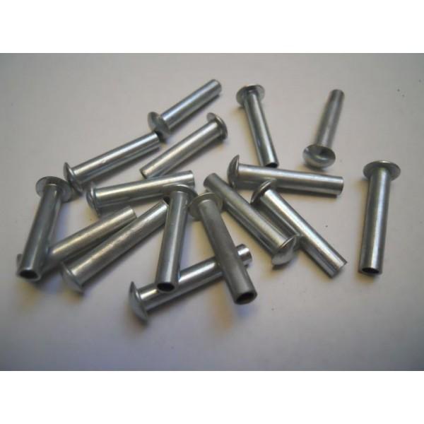 Remache de hierro nuevo 5mm x 25mm recambio usado for Remaches de hierro