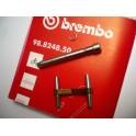 Fijaciones pastillas freno NUEVAS pinza Brembo modelo P05.