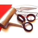 Goma fijacion soporte faro NUEVA Ducati 125-160-175-200-250.