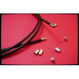 Funda de cable interior metalico NUEVA gas-acelerador (incluye terminales)..
