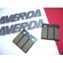 Juego de pastillas NUEVAS Laverda Jota 1000,Mirage 1200,RGS 1000