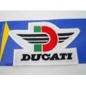Parche bordado thermo-adhesivo Logo Ducati Corse.