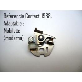 Juego platinos ORIGINALES Kontact NUEVOS Mobilette (Ref. Kontact 1988).