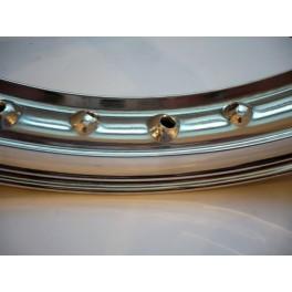 """Llanta aluminio con nervio Akront-Morad NUEVA 1.85-18"""" 36taladro"""