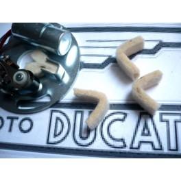 Fieltro plato ruptor NUEVO Ducati monocilindricas.