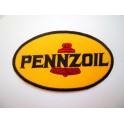 Parche bordado thermo-adhesivo Logo Pennzoil.