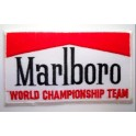 Parche bordado thermo-adhesivo Logo Marlboro Racing.