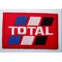 Parche bordado thermo-adhesivo Logo Total Oil.