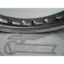 Llanta aluminio Akront-Morad NUEVA Ducati 125-160.