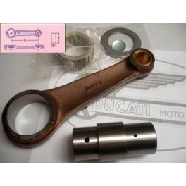 Biela original NUEVA Ducati 250cc-350cc carter ancho (eje 30mm)