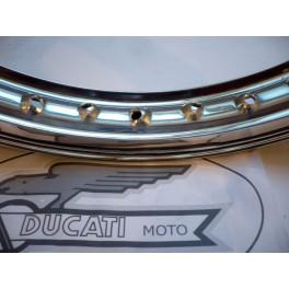 Llanta aluminio nervio Akront-Morad NUEVA Ducati Scrambler -delantera-.