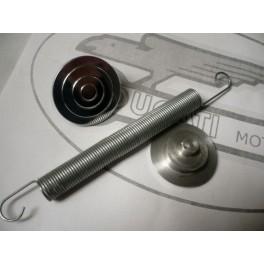 Tapones aluminio basculante NUEVO Ducati 125-160-175-200-250Deluxe.