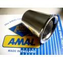 trompeta cornetin toma de aire NUEVA carburador Amal Monoblock 376 (Ø 40mm) -Con rejilla-.