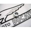 Tuerca eje rueda delantera NUEVA Ducati modelos de freno de tambor.