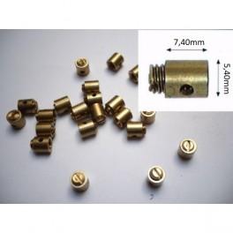 Prisionero cable acelerador NUEVO tipo Magura (5,40mmx7,40mm).