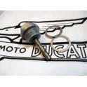 Tapon llenado con nivel aceite NUEVO Ducati (carter estrecho).