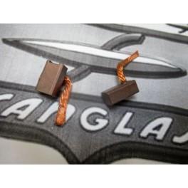 Juego escobillas motor arranque NUEVAS Sanglas bicilindrica 400Y.