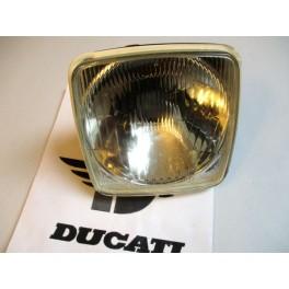 Grupo optico delantero NUEVO Ducati 500 Desmo. (Lampara H4)