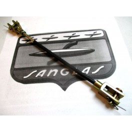 Cable accionamiento freno trasero NUEVO Sanglas 400Y Bicilindrica.