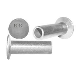 Remache aluminio cabeza plana (3 x 12,80mm)