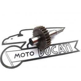 Eje y piñon mando Ruptor NUEVO Ducati modelos Monocilindricos.