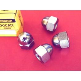 Juego tuercas fijacion amortiguadores NUEVO Ducati (monocilindricas).