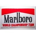 Parche bordado thermo-adhesivo Logo Marlboro Racing.