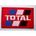 Parche bordado thermo-adhesivo Logo Total Oil.