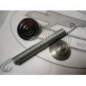 Tapones aluminio basculante NUEVO Ducati 125-160-175-200-250Delu