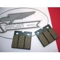 Juego de pastillas NUEVO Ducati 650/750/850/900.